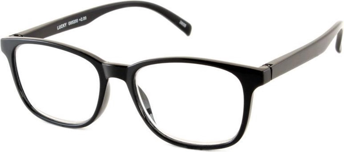 ,Leesbril I Need You Lucky +2.00 dpt zwart
