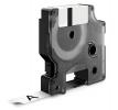 , Labeltape Dymo Rhino 18443 vinyl 9mmx5.5m zwart op wit