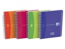 , Adresboek Oxford MyColours A6 80vel lijn assorti