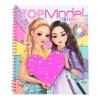 ,<b>Topmodel kleurboek met pailletten</b>