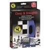 , Spel Jumbo schaken & dammen travel