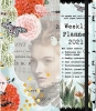 ,<b>Weekagenda 2021 studio onszelf vintage woman 16x20</b>