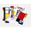 Pia-261336 , Mondriaan squares speelkaarten - double deck - piatnik