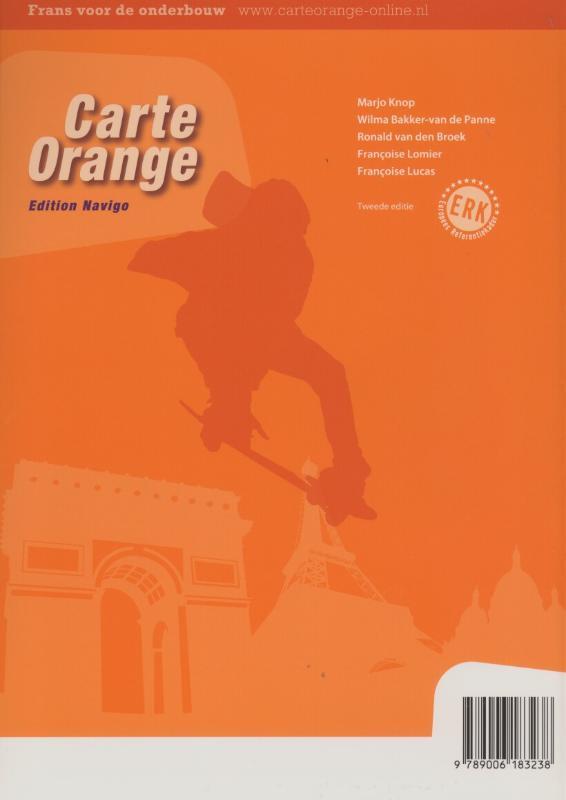 Marjo Knop, Wilma Bakker-van de Panne, Ronald van den Broek, Lomier,Carte Orange 1 vmbo gt/havo Textes en Activités