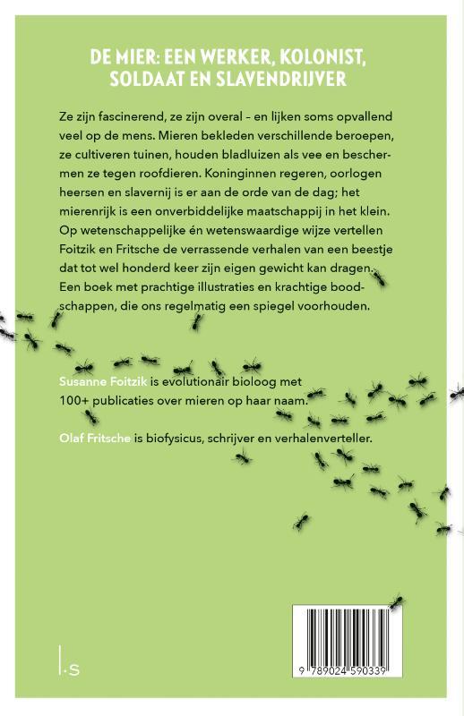 Susanne Foitzik, Olaf Fritsche,De mierenmaatschappij