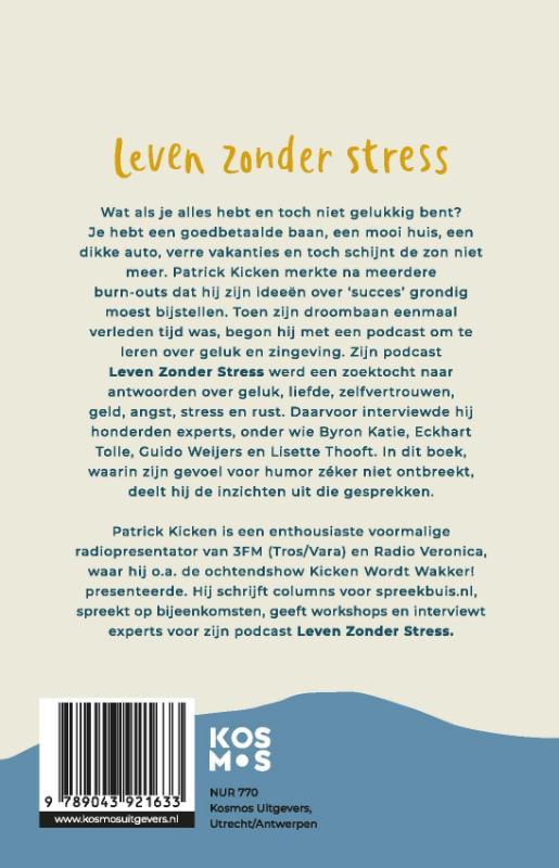 Patrick Kicken,Leven Zonder Stress