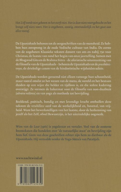 Wim van de Laar,De Upanishads