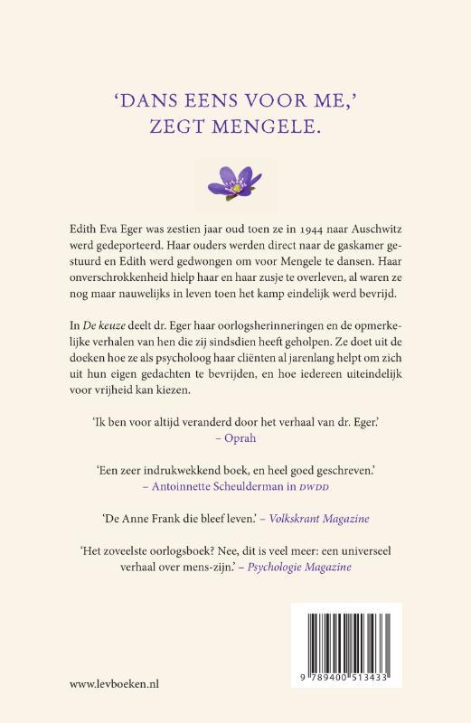 Edith Eger,De keuze