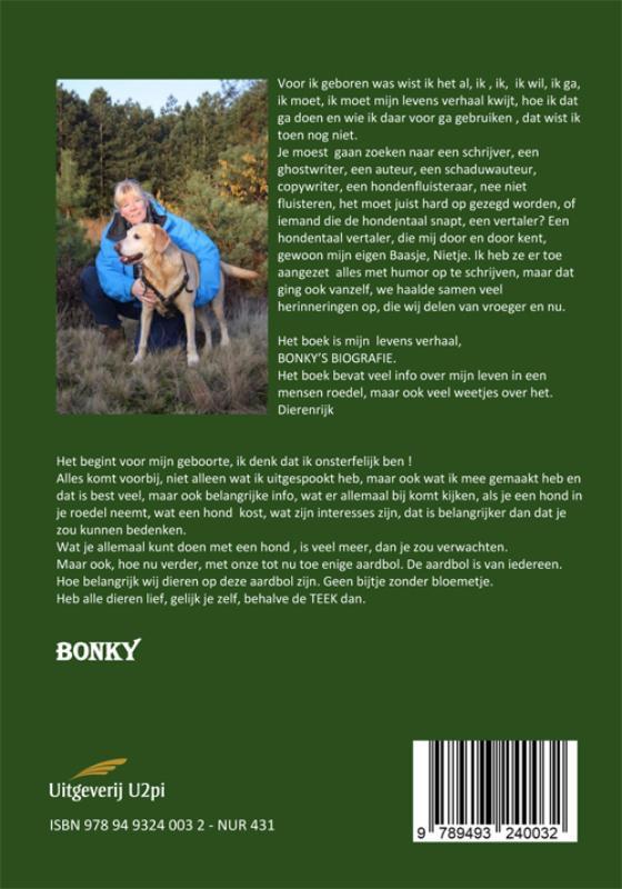 Anita Drenthen,Bonky`s Biografie