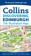 Dominic Beddow,   Collins Maps Discovering Edinburgh Illustrated Map