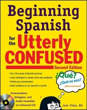 Jean Yates Beginning Spanish for the Utterly Confused with Audio CD, Second Edition