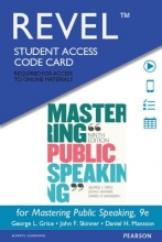 Grice, George L. Revel for Mastering Public Speaking -- Access Card
