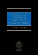 Raczynska, Magda, Dr. The Law of Tracing in Commercial Transactions