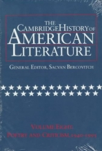 The Cambridge History of American Literature, Volume 8