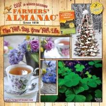 Browntrout Publishers, Inc Farmers` Almanac 2017 Square