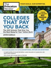 Princeton Review Colleges That Pay You Back, 2018 Edition