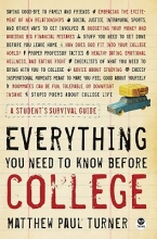 Turner, Matthew Paul Everything You Need to Know Before College