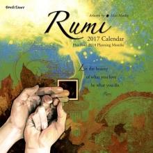 Rumi 2017 Mini Wall Calendar