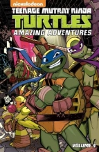 Manning, Matthew K.,   Goellner, Caleb Teenage Mutant Ninja Turtles Amazing Adventures 4