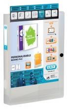 , Verzamelbox Oxford Polyvision 40mm met insteektas transparant