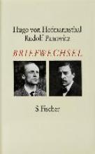 Hofmannsthal, Hugo von Briefwechsel Hofmannsthal Pannwitz 1907 - 1926