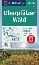 , Oberpfälzer Wald 1:50 000