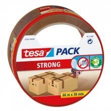 , Verpakkingstape Tesa 05042 strong 38mmx66m bruin