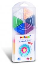 PRIMO * Box met 12 driehoek waskrijtjes
