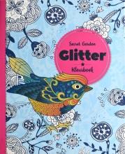, Kleurboek Interstat volwassenen glitter thema secret garden