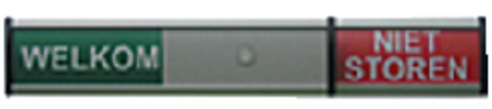 , Infobord welkom/niet storen 125x30mm