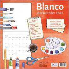 , Blanco maandkalender 2022