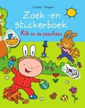 Liesbet  Slegers Zoek -en stickerboek Rik en de paashaas