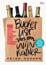 Peter  Doomen Bucketlist voor een wijnkenner
