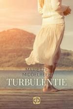 Mariëtte  Middelbeek Turbulentie - grote letter uitgave
