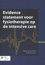 Juultje Sommers Marike van der Schaaf, Evidence statement voor fysiotherapie op de intensive care