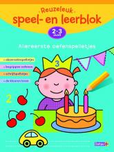 Annemie  Bosmans Reuzeleuk speel- en leerblok Allereerste oefenspelletjes 2-3 jaar