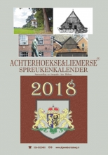 Arie Ribbers , Achterhoekse & liemerse spreukenkalender 2018