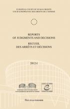 European Court of Human Rights , Reports of judgments and decisions recueil des arrets et decisions vol. 2012-I