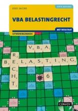 C.J.M. Jacobs , VBA Belastingrecht 2021/2022 Uitwerkingenboek