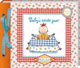 , invulboek Pauline Oud baby`s eerste jaar