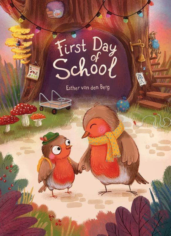 Esther van den Berg,First Day of School