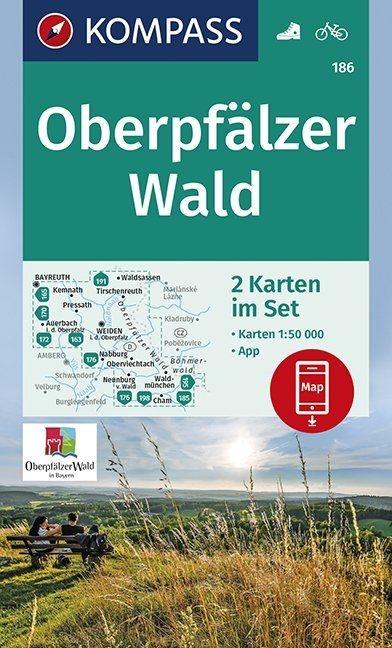 ,Oberpfälzer Wald 1:50 000