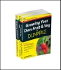 Stebbings, Geoff,Self-sufficiency For Dummies Collection - Growing Your Own Fruit & Veg For Dummies/Keeping Chickens For Dummies UK Edition