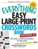 Timmerman, Charles,The Everything Easy Large-Print Crosswords Book