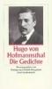 Hofmannsthal, Hugo von,Die Gedichte