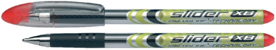 S-151202 ,Rollerpen Schneider Slider Xb Rood 1.4mm