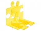 ,boekensteun HAN Puzzle set a 2 stuks signal geel