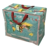 ,<b>Jumbo Shopper zak vintage world map</b>