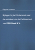 B.F.M.  Knüpe, R.J.  Schimmelpenninck,Bijlagen bij het onderzoek naar de oorzaken van het faillissement van DSB Bank N.V.