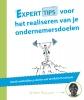 <b>Arturo  Massaro</b>,Experttips boekenserie Experttips voor het realiseren van je ondernemersdoelen